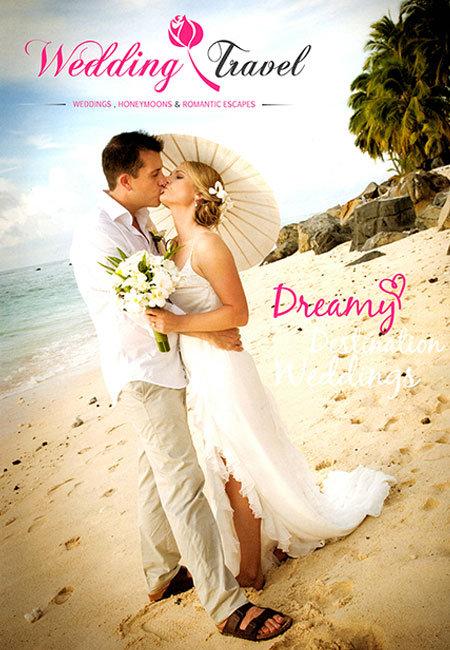 Wedding Travel Magazine Cover Image